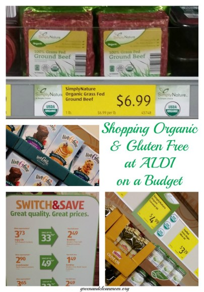 Shopping ALDI for Organic & Gluten Free On a Budget
