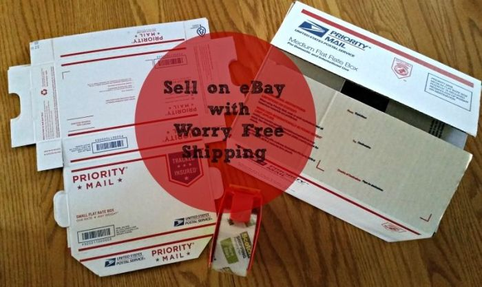 Sell on eBay with Worry Free Shipping