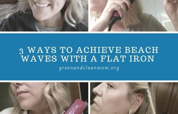3 Ways to Achieve Beach Waves with a Flat Iron
