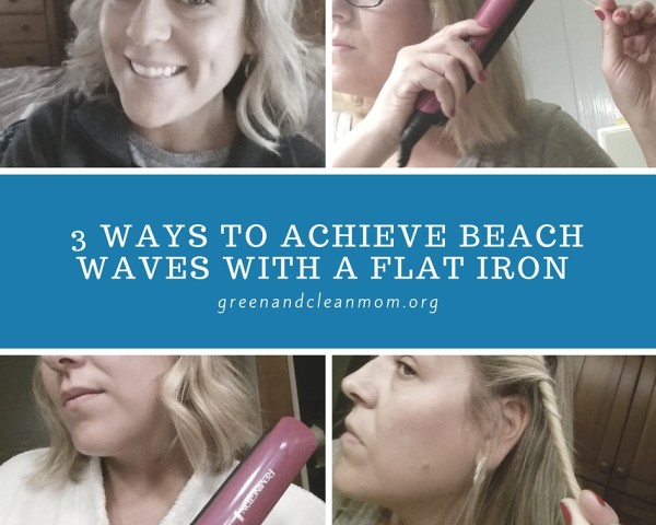 3 Ways to Achieve Beach Waves with a Flat Iron