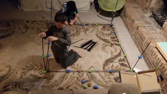 How to Survive a Snow Day for Work at Home Parents – Let them Build Forts