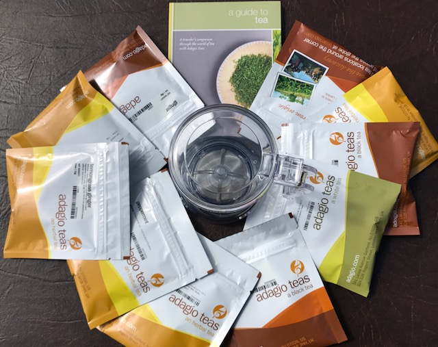 Expand your knowledge of teas with Adagio Teas