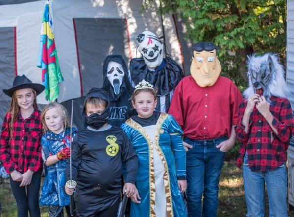 Halloween Camping at the KOA
