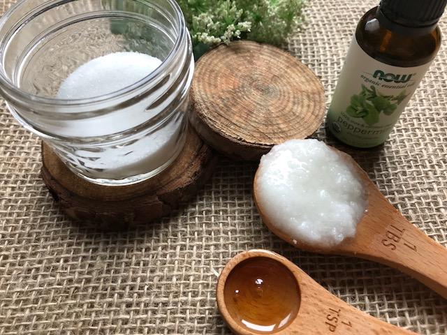 Peppermint Lip Scrub Recipe