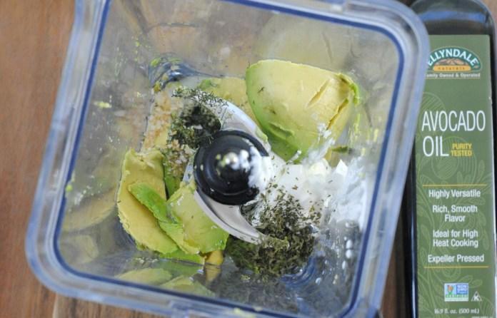 Healthy Avocado Veggie Dip Recipe