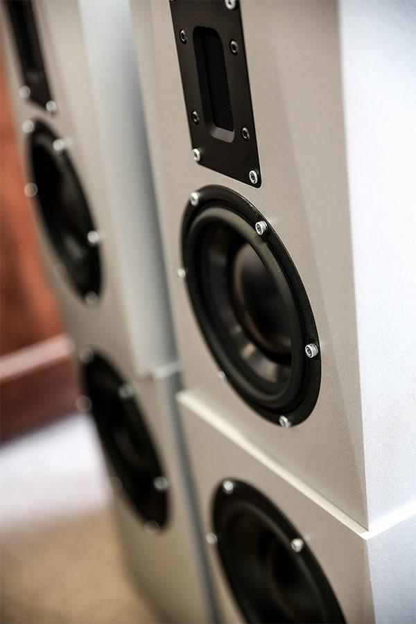 Green & Green Grey Speaker