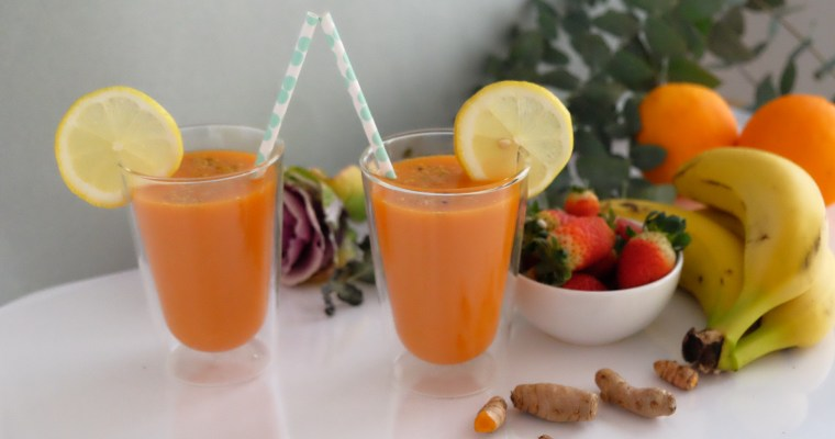 Easy carrot smoothie