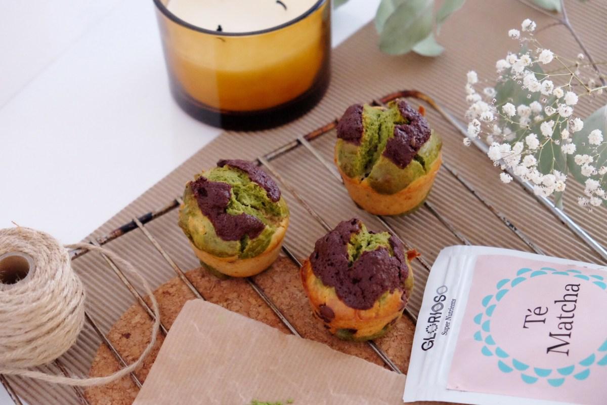 Muffin au thé vert