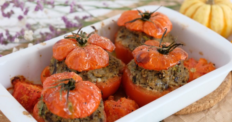 Tomates farcies sin carne