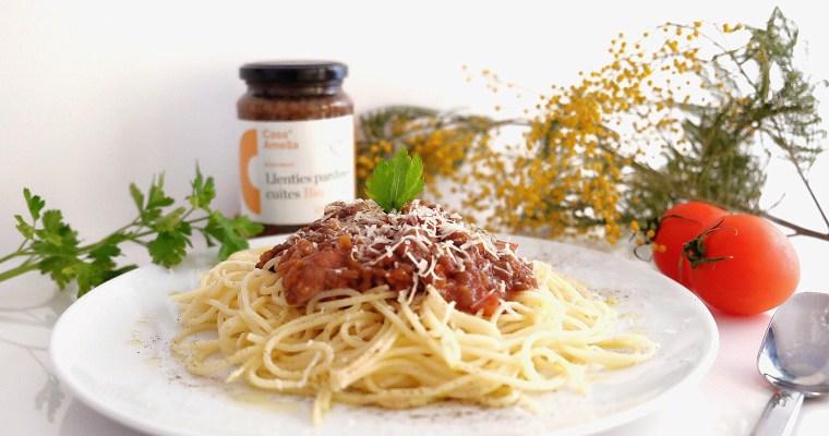 Vegetarian bolognese