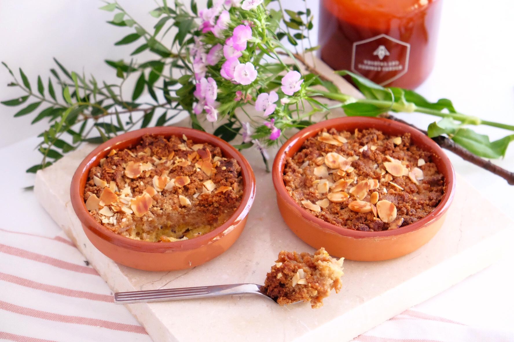 Delicious easy gluten free crumble !