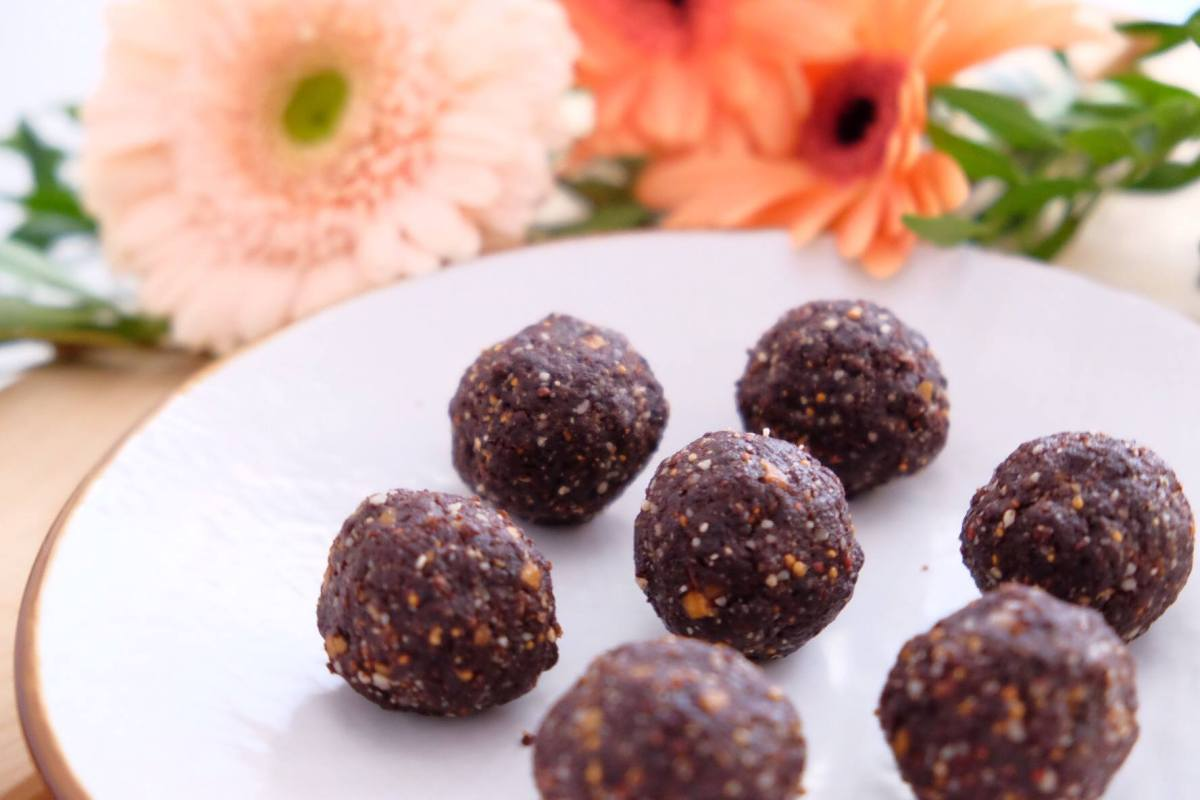 Choco power ball -GLUTEN FREE-