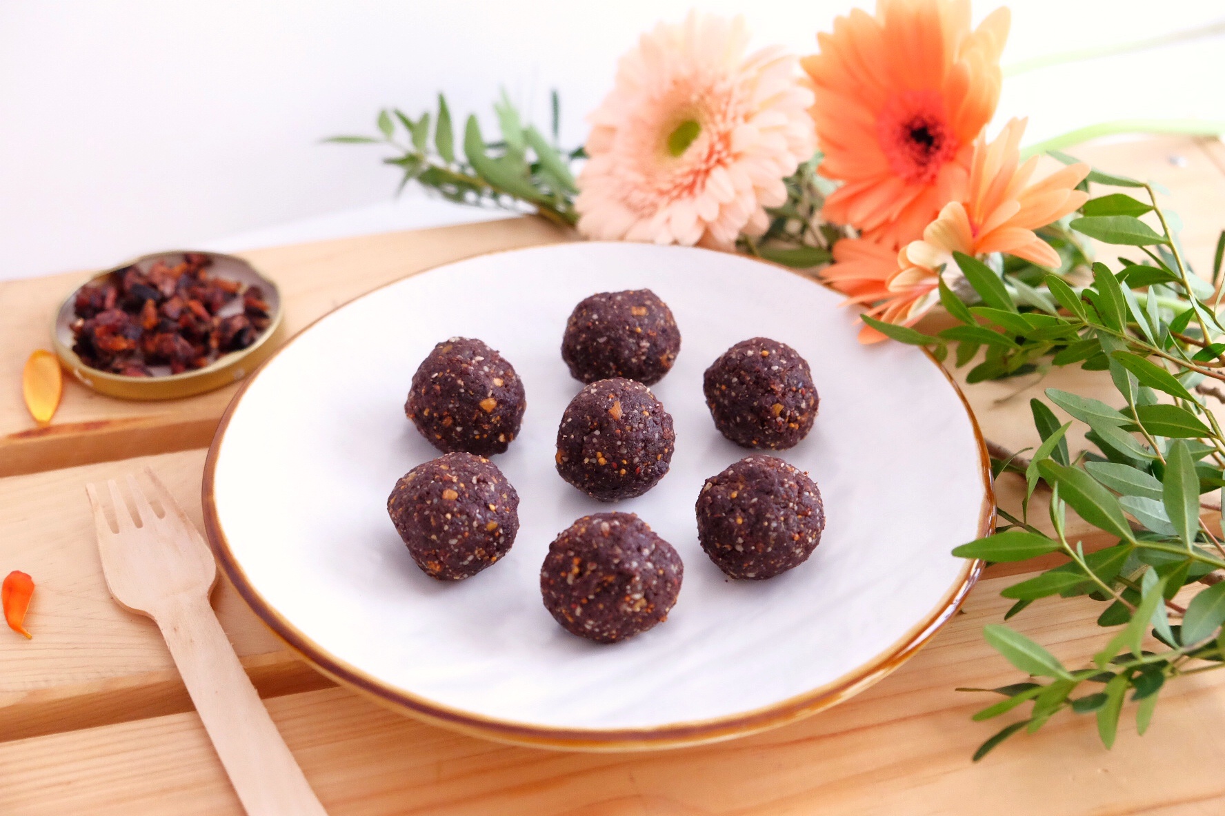 Choco power ball -GLUTEN FREE