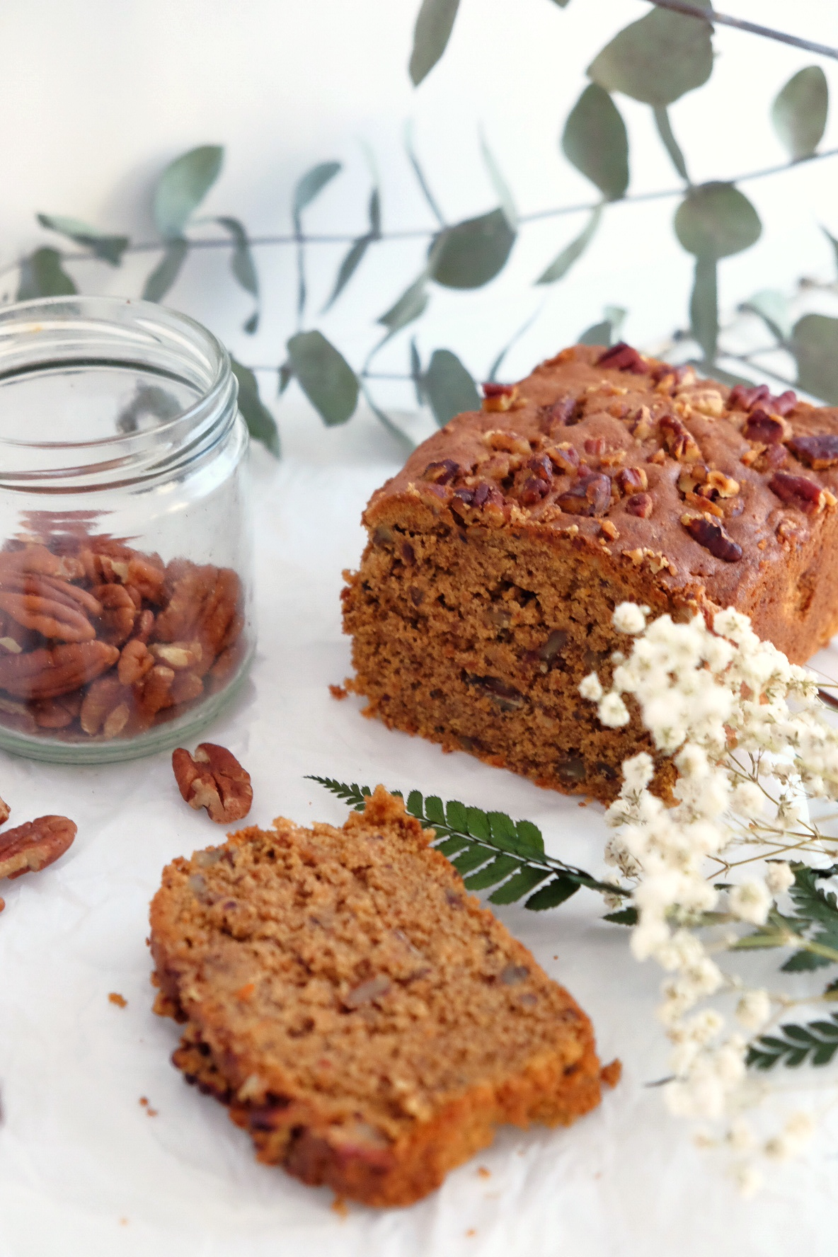 Delicious carrot cake GLUTEN-FREE