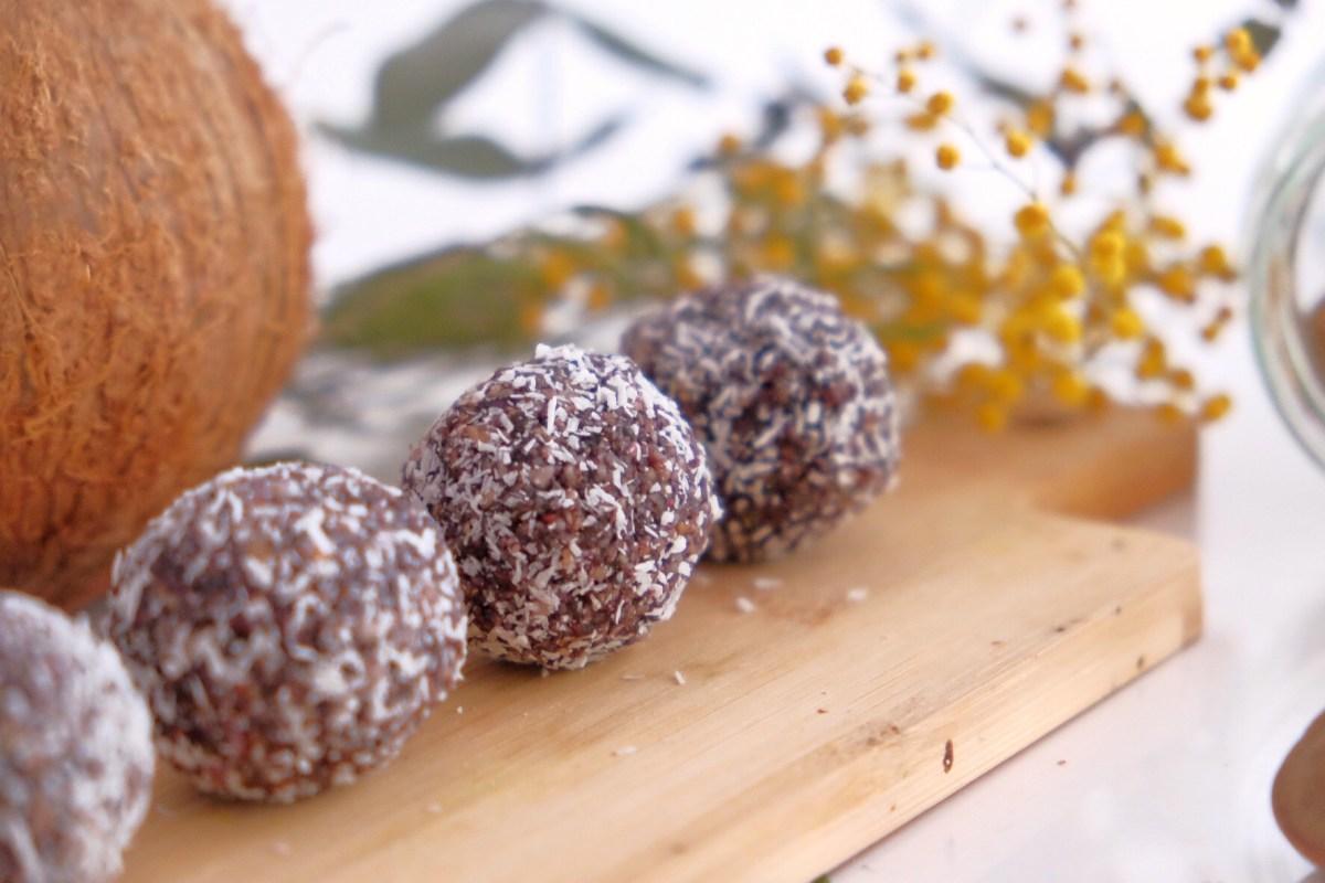 Gluten free power balls