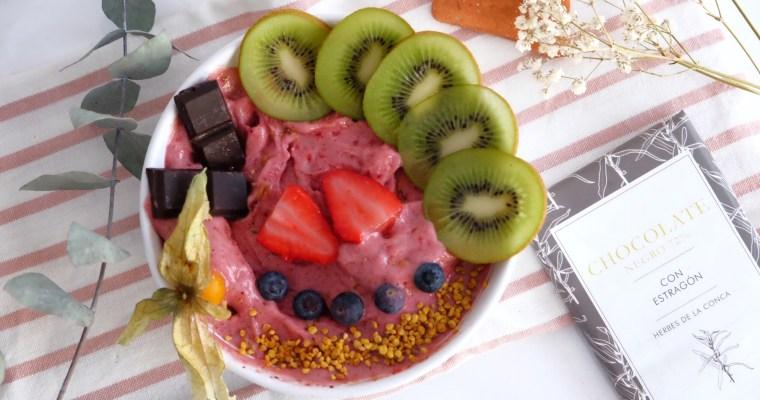 Glace aux fruits frais