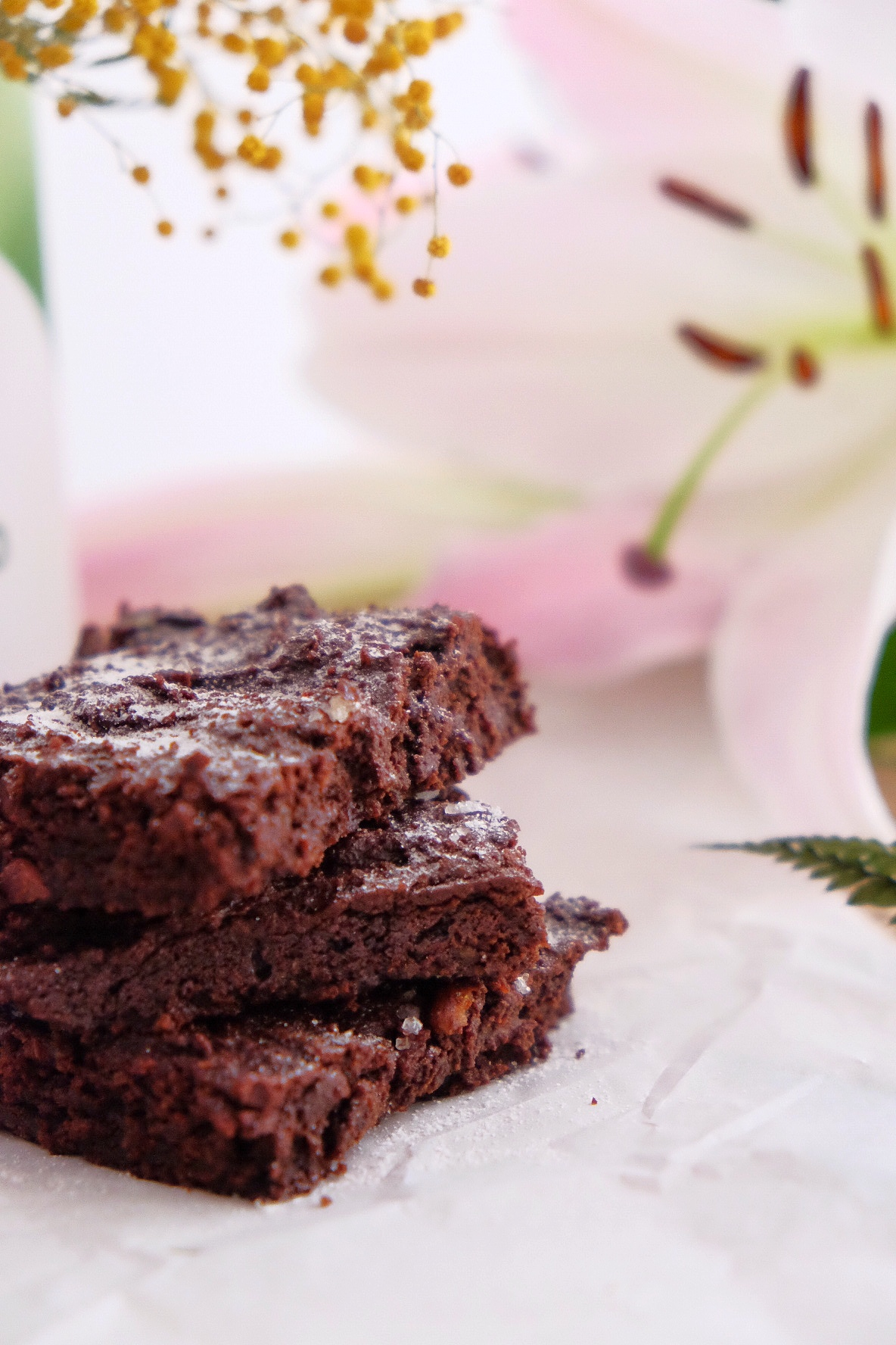 Brownie with avocado - GLUTEN FREE-