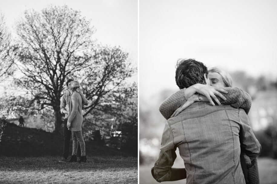 Proposal photo shoot in London