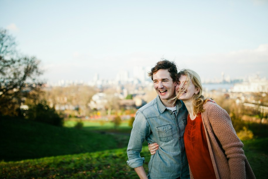 Proposal photo shoot in London by Greenwich wedding photographer