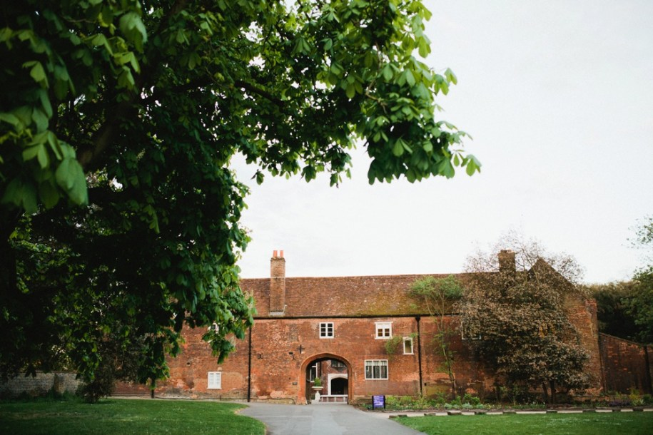 Entrance at Fulham Palace in London