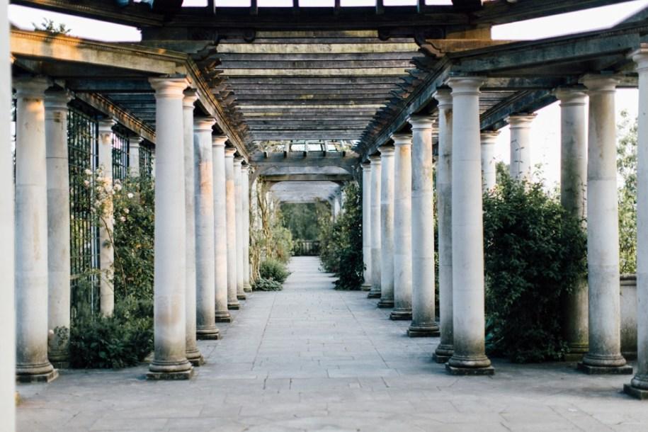 London's hidden gems and photo shoot location Hampstead Pergola Hill Gardens