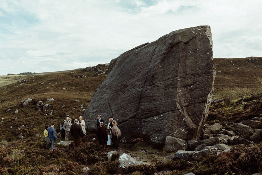 elopement near Drake Stone in Northumberland