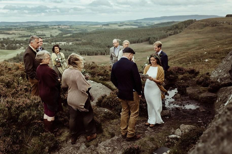 Northumberland elopement near Drake stone