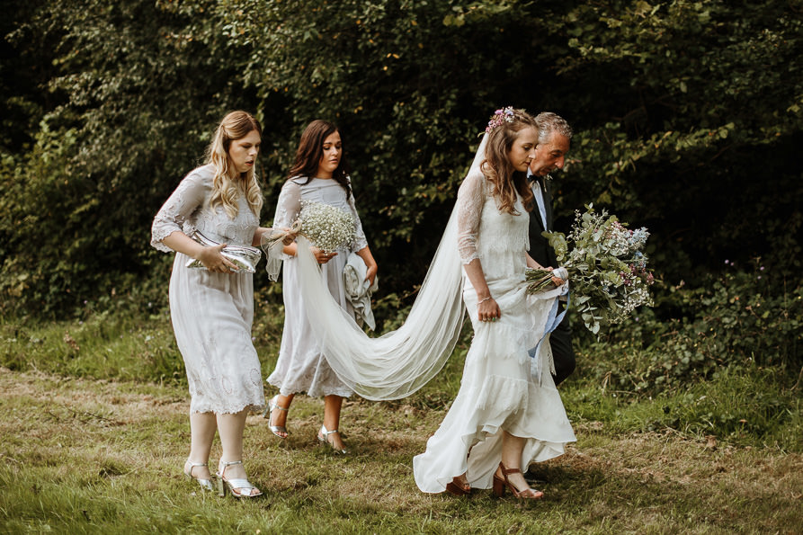 outdoor forest ceremony Guildford