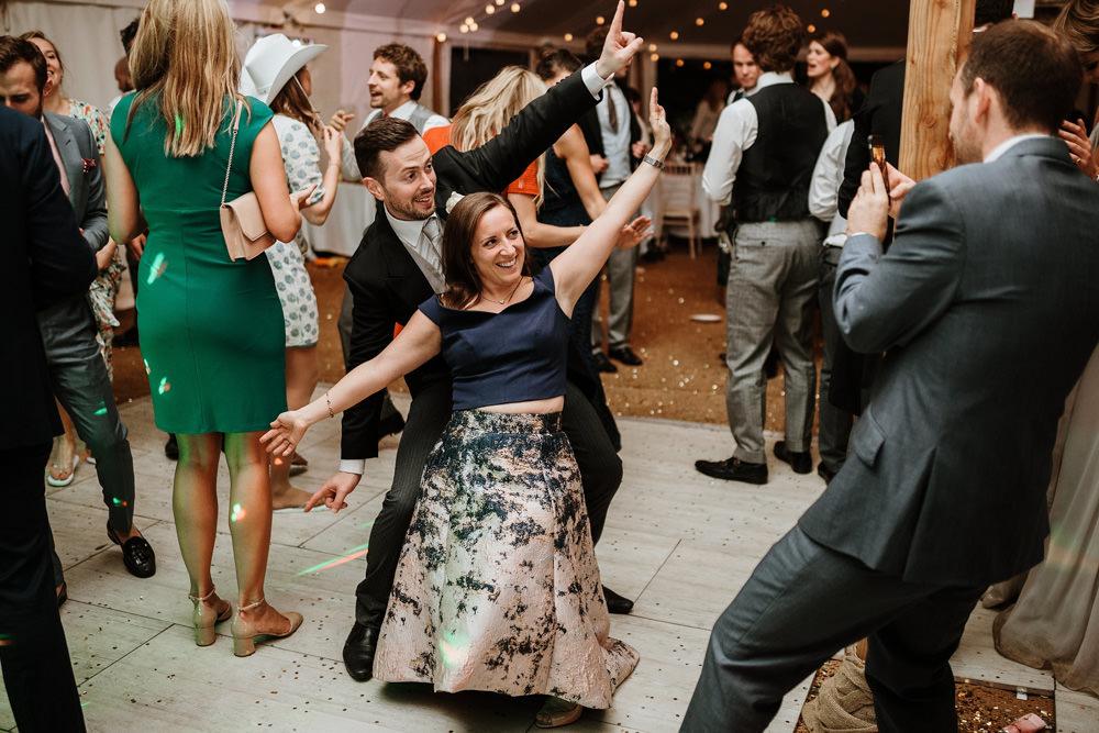 fun wedding reception dorset