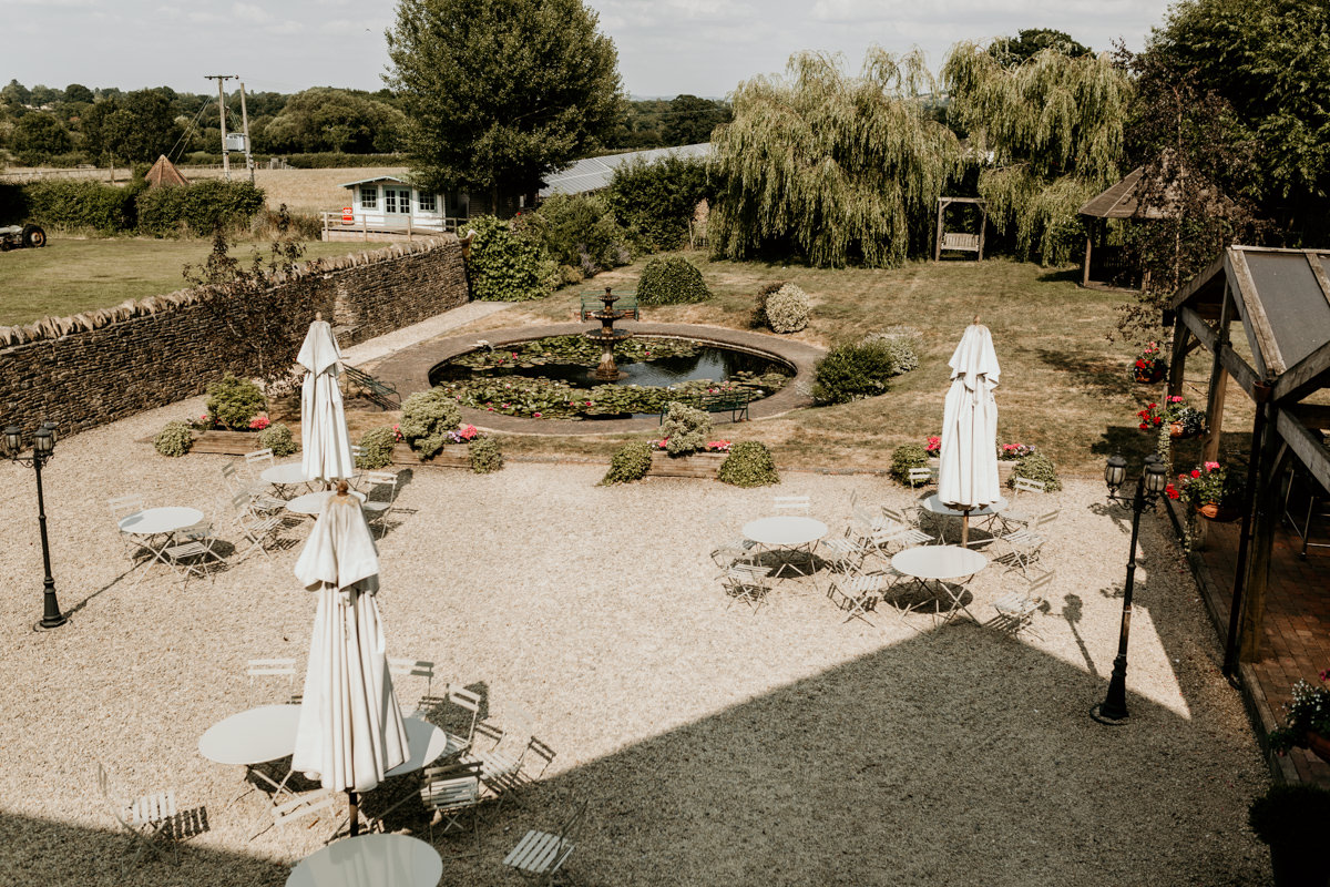 gardens of The Barn at Berkeley Wedding Venue Cotswolds