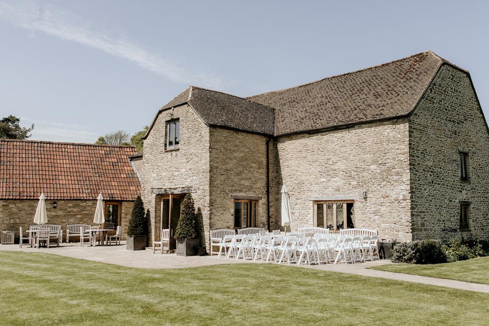 The Kingscote Barn Wedding venue