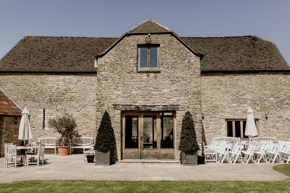 The Kingscote Barn Wedding venue Cotswolds