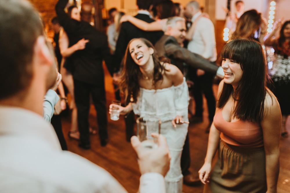 bride on dance floor during plas dinam country house wedding reception