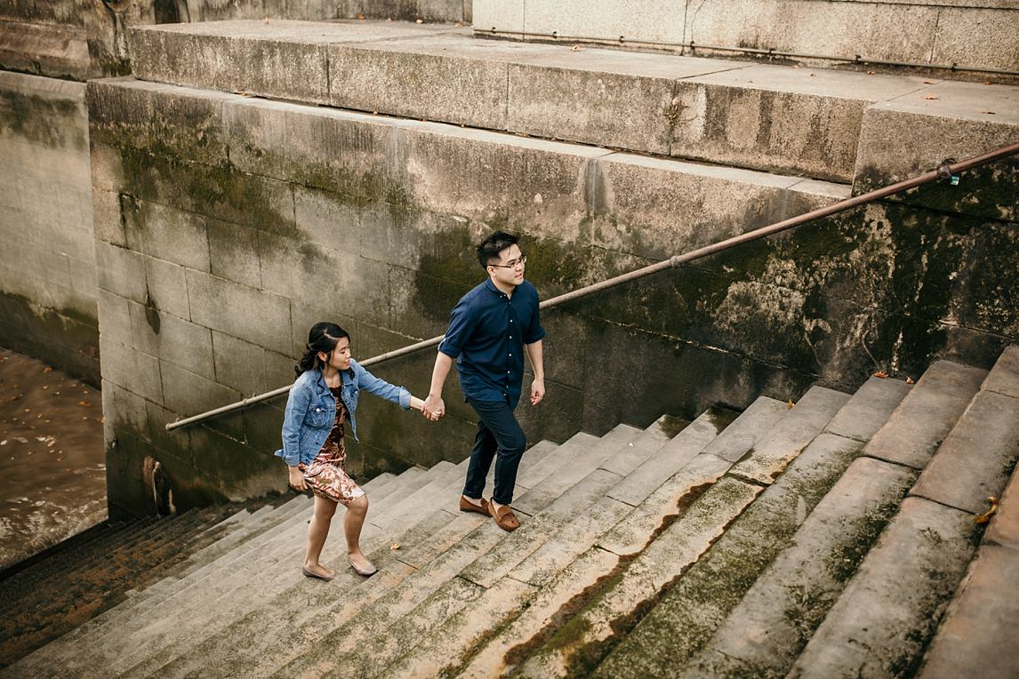 southbank engagement photoshoot london