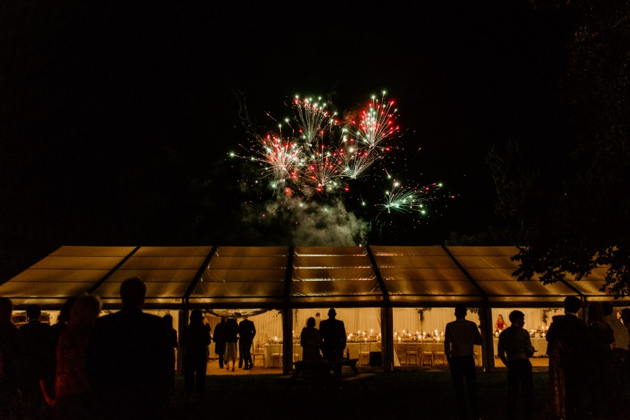 fireworks for wedding reception ideas for marquee wedding or outdoor event