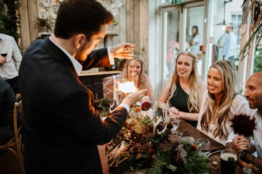 magician for wedding entertainment ideas