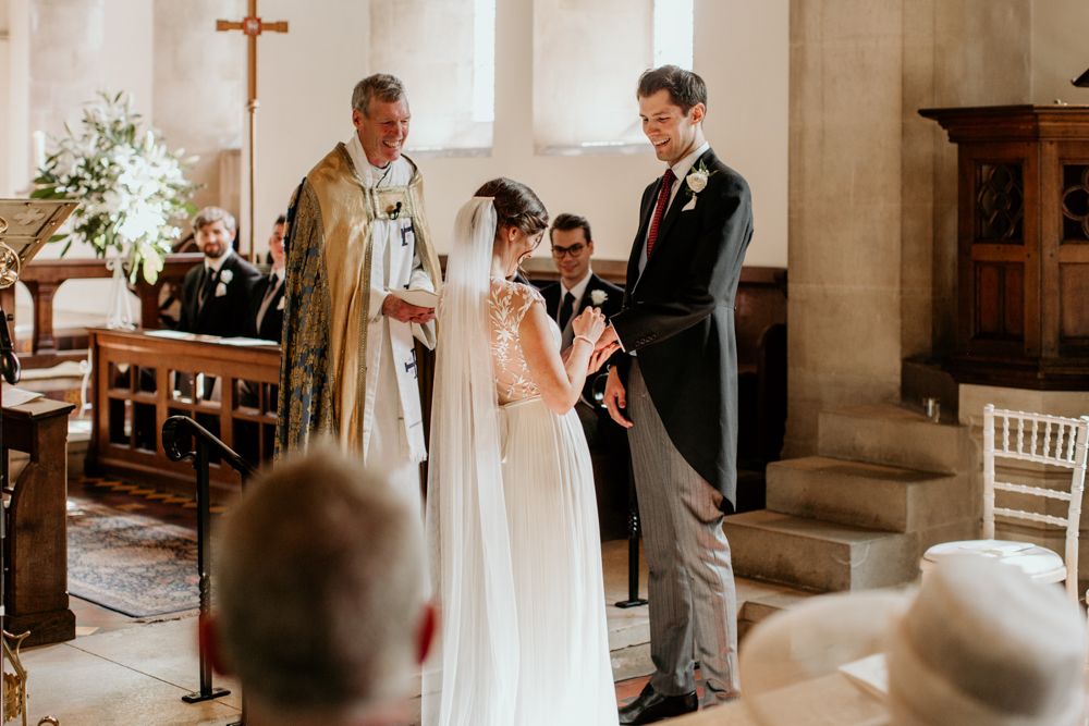 wedding ceremony vows in Poulton