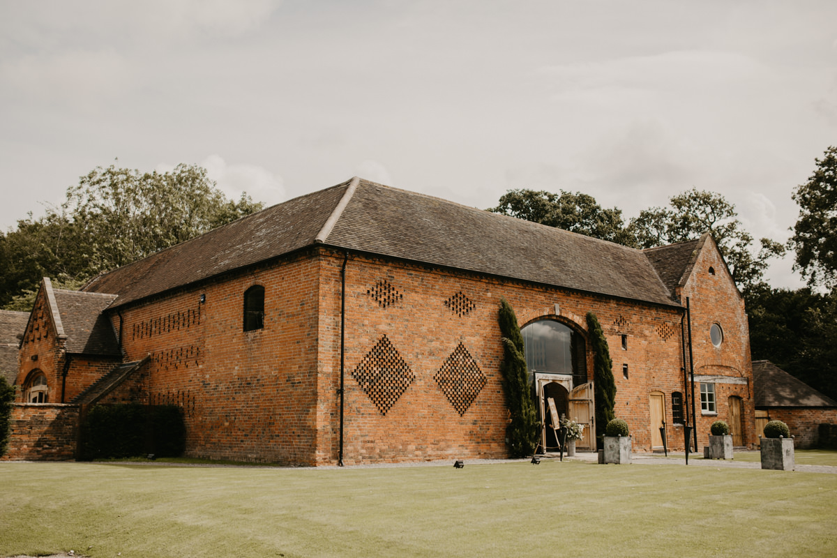 Shustoke Barn wedding venue Warwickshire