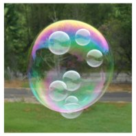 Win Bubbles Inside Bubbles Bubble Gun From Green Ant Toys www.greenanttoys.com.au