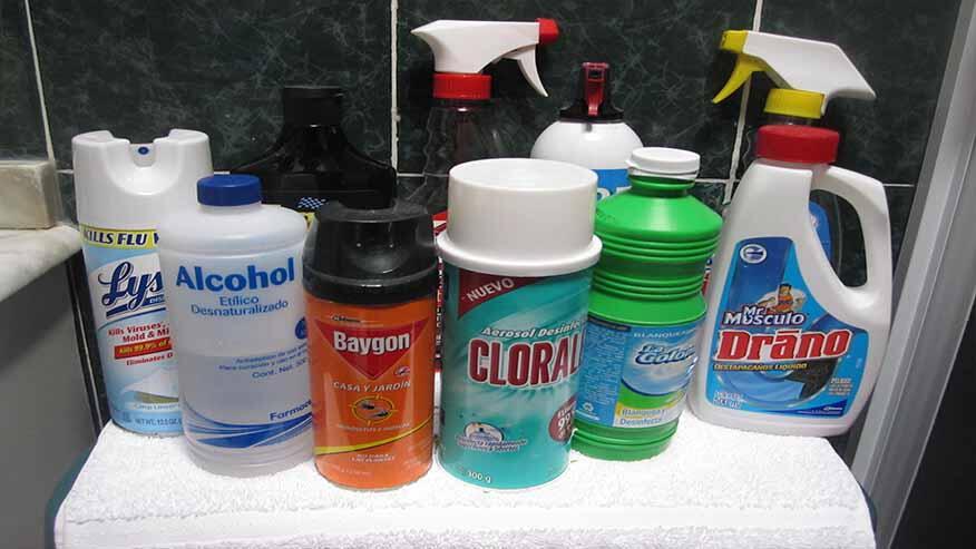 Productos t xicos en el hogar for Articulos de casa