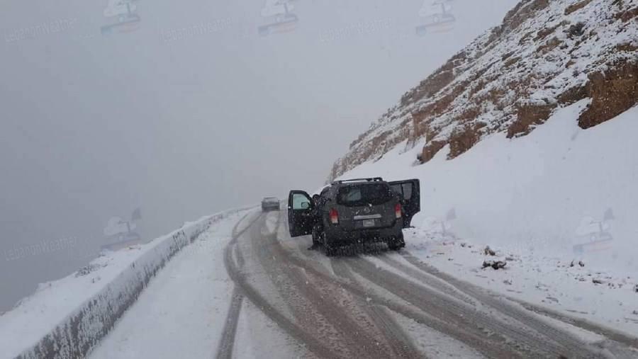La neige de Mai au Liban-Nord