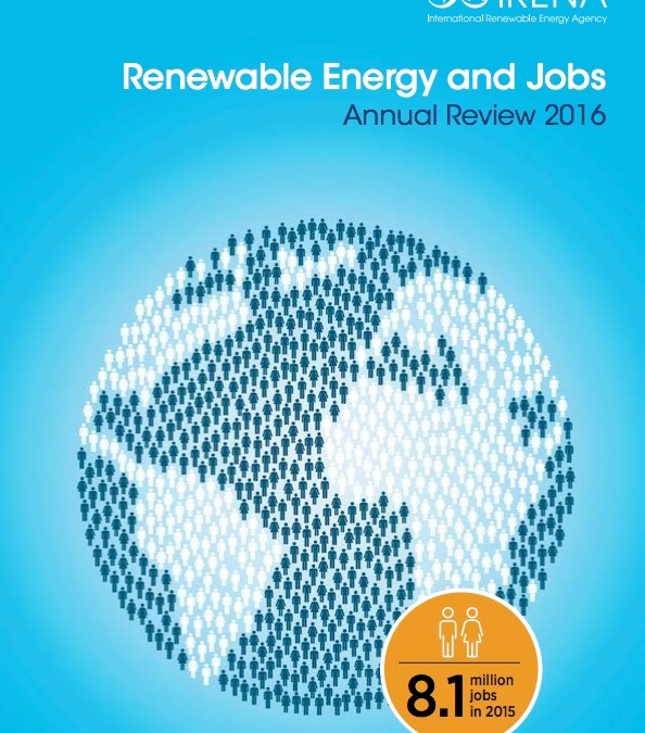 """""""المراجعة السنوية – الطاقة المتجددة والوظائف 2016"""""""