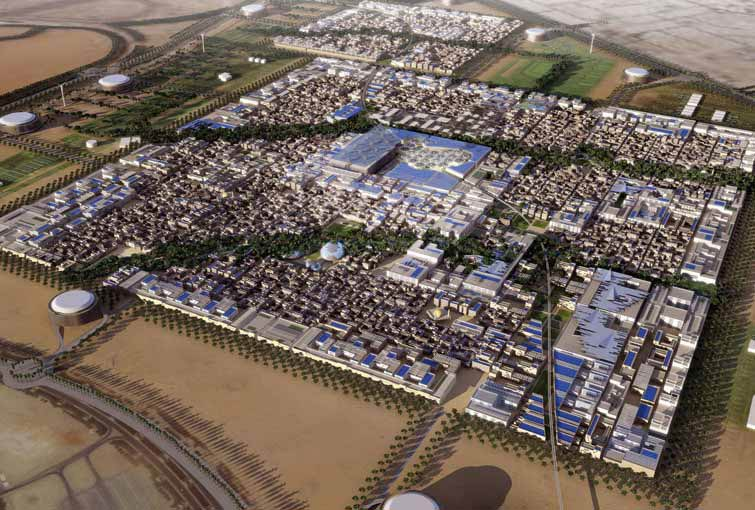 Masdar City, the 'tax haven' of renewable energy