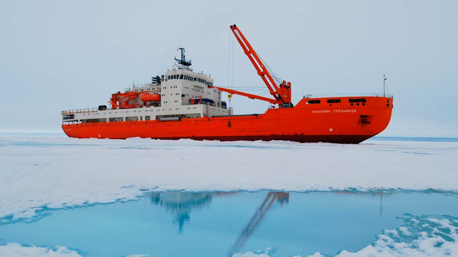 A scientific expedition will sail for the first time around Antarctica