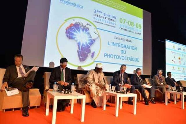 افتتاح المعرض الدولي للطاقة الشمسية في الدار البيضاء