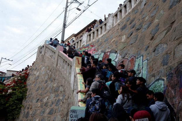 زلزال شدته 6.9 درجة يضرب تشيلي