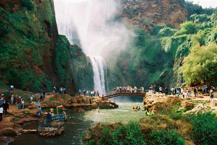 شلالات المغرب: سحر الطبيعة