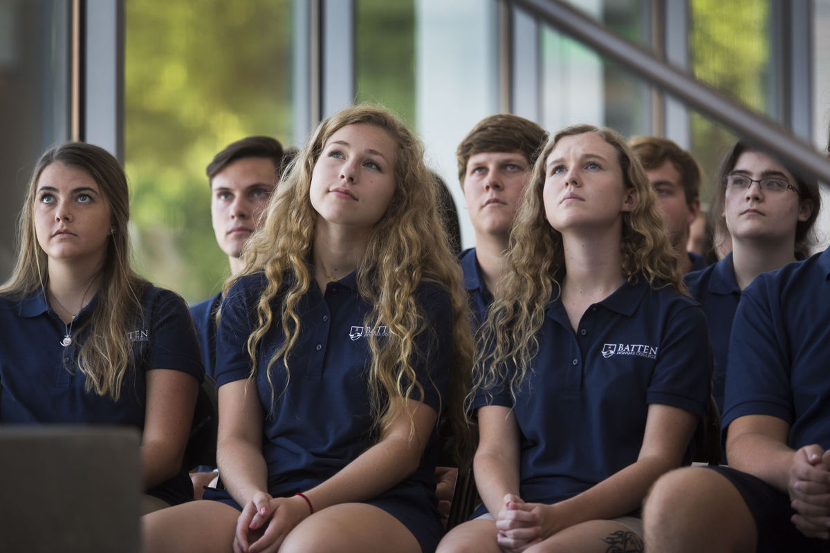 Virginia Wesleyan University welcomes the 1st class of the Batten Honors College