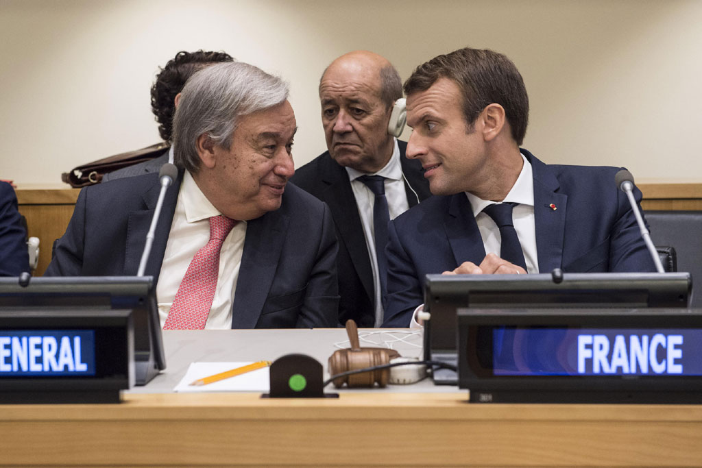 French initiative to create global environment pact deserves support, says Secretary-General