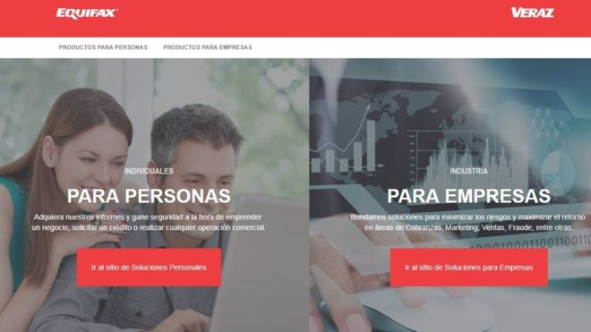 Equifax had 'admin' as login and password in Argentina